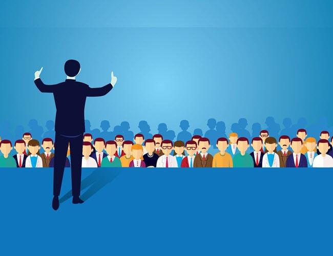 تبلیغات حضوری و استفاده از تکنیک چهره به چهره و برگزاری جلسات تبلیغاتی